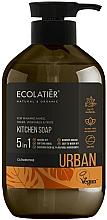 "Parfüm, Parfüméria, kozmetikum Konyhai folyékony szappan ""Klementin"" - Ecolatier Urban Liquid Soap"