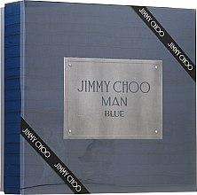 Parfüm, Parfüméria, kozmetikum Jimmy Choo Man Blue - Szett (edt/100ml + ash/balm/100ml + edt/7.5ml)
