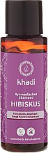 """Parfüm, Parfüméria, kozmetikum Ayurvédikus sampon """"Hibiszkusz"""" - Khadi Hibiscus Shampoo"""