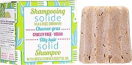 Parfüm, Parfüméria, kozmetikum Szilárd sampon zsíros hajra - Lamazuna Solid Shampoo For Oily Hair With Litsea Cubeba