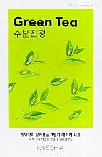 Parfüm, Parfüméria, kozmetikum Arcmaszk zöld tea kivonattal - Missha Airy Fit Green Tea Sheet Mask