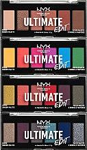 Parfüm, Parfüméria, kozmetikum Szemhéjfesték paletta - NYX Professional Makeup Ultimate Edit Petite Shadow Palette