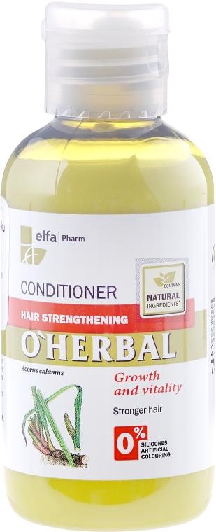 Balzsam-kondicionáló hajerősítő calamus gyökér kivonattal - O'Herbal