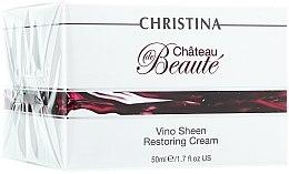 """Parfüm, Parfüméria, kozmetikum Helyreállító krém """"Fennséges"""" szőlő kivonat alapon - Christina Chateau de Beaute Vino Sheen Restoring Cream"""