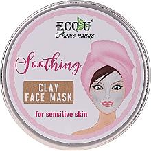 "Parfüm, Parfüméria, kozmetikum Arcmaszk ""Nyugtató"" - Eco U Soothing Clay Face Mask For Sensative Skin"