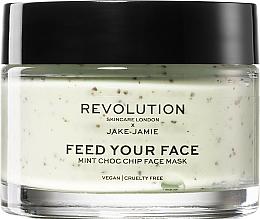 Parfüm, Parfüméria, kozmetikum Frissítő arcmaszk borsmentával - Revolution Skincare X Jake-Jamie Mint Choc Chip
