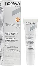 Parfüm, Parfüméria, kozmetikum Szemkörnyékápoló - Noreva Laboratoires Trio White XP Anti-Dark Spot Eye Contour Care