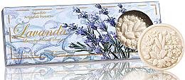 """Parfüm, Parfüméria, kozmetikum Szappan szett """"Levendula"""" - Saponificio Artigianale Fiorentino Lavender Soap"""