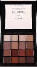 Parfüm, Parfüméria, kozmetikum Szemhéjfesték paletta - Nyx Professional Makeup Ultimate Shadow Palette