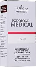 Parfüm, Parfüméria, kozmetikum Ápoló bőr- és köröm krém mikózis tünetekre - Farmona Professional Podologic Medical Cream For Skin With Fungal Infection Symptoms