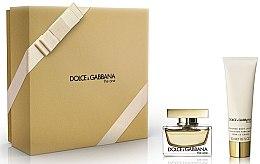 Parfüm, Parfüméria, kozmetikum Dolce & Gabbana The One - Szett (edp/30ml+b/lot/50ml)