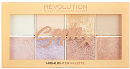 Parfüm, Parfüméria, kozmetikum Highlighter paletta - Makeup Revolution Soph Highlighter Palette