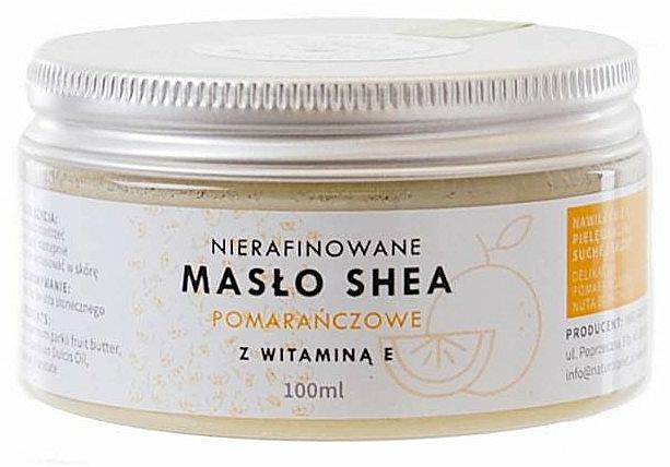 Finomítatlan sheavaj E-vitaminnal - Natur Planet Orange Shea Butter Unrefined & Vitamin E