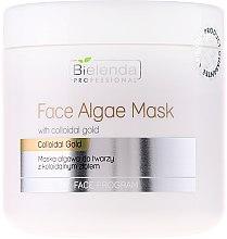 Parfüm, Parfüméria, kozmetikum Alginát arcmaszk kolloid arannyal - Bielenda Professional Face Algae Mask
