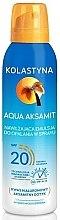 Parfüm, Parfüméria, kozmetikum Hidartáló napozó spray - Kolastyna Aqua Aksamit SPF 20