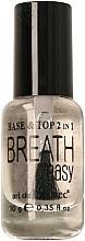 Parfüm, Parfüméria, kozmetikum Alap-és fedő gél lakk 2 az 1 - Art de Lautrec Breath Easy Base Top
