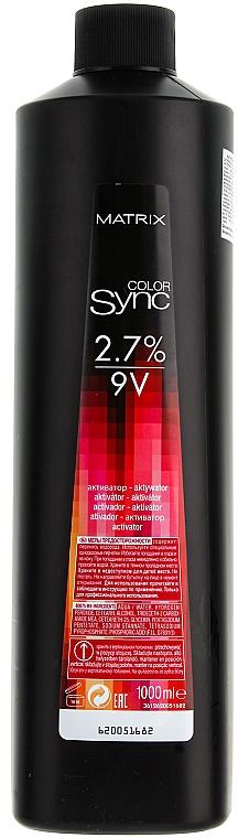 Aktivátor - Matrix Color Sync Activator 2,7%  — fotó N4