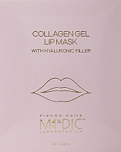 Parfüm, Parfüméria, kozmetikum Kollagén maszk ajakra - Pierre Rene Medic Collagen Gel Lip Mask