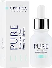 Parfüm, Parfüméria, kozmetikum Szemkörnyékápoló szérum - Orphica Pure Advanced Eye Renewal Serum