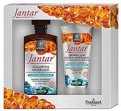 Parfüm, Parfüméria, kozmetikum Szett - Farmona Jantar Mineral (shm/330ml+h/mask/200ml)