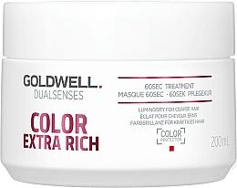 Parfüm, Parfüméria, kozmetikum Intenzív hajpakolás festett hajra - Goldwell DualSenses Color Extra Rich 60sec Treatment