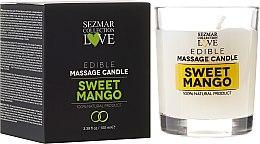 """Parfüm, Parfüméria, kozmetikum Természetes masszázs gyertya """"Mango"""" - Sezmar Collection"""