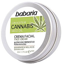Parfüm, Parfüméria, kozmetikum Arckrém - Babaria Cannabis Seed Oil Face Cream