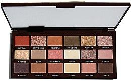 Parfüm, Parfüméria, kozmetikum Szemhéjfesték paletta, 18 árnyalat - I Heart Revolution Chocolate Palette