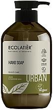 "Parfüm, Parfüméria, kozmetikum Folyékony szappan ""Aloe és mandulatej"" - Ecolatier Urban Liquid Soap"