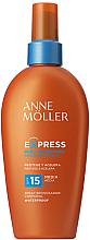 Parfüm, Parfüméria, kozmetikum Napozást elősegítő napvédő spray - Anne Moller Express Sunscreen Body Spray SPF15