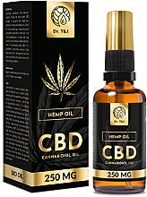 Parfüm, Parfüméria, kozmetikum Természetes kenderolaj Bio CBD 250mg - Dr. T&J Bio Oil