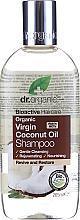 "Parfüm, Parfüméria, kozmetikum Sampon ""Kókusz olaj"" - Dr. Organic Bioactive Haircare Virgin Coconut Oil Shampoo"