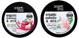 Parfüm, Parfüméria, kozmetikum Szett - Organic Shop (b/mousse/250ml + b/cr/250ml)