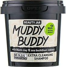 """Parfüm, Parfüméria, kozmetikum Sampon """"Muddy Buddy"""" - Beauty Jar Extra Cleansing Shampoo"""