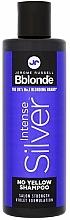 Parfüm, Parfüméria, kozmetikum Árnyaló sampon világos, ősz és szőkített hajra - Jerome Russell Bblonde Intense Silver No Yellow Shampoo