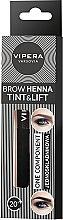 Parfüm, Parfüméria, kozmetikum Egykomponensű henna szemöldökre - Vipera Tint&Lift Brow Henna