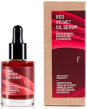 """Parfüm, Parfüméria, kozmetikum Éjszakai arcszérum """"Vörös bársony"""" - Freshly Cosmetics Red Velvet Oil Serum Balm"""