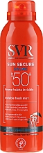 Parfüm, Parfüméria, kozmetikum Napvédő permet - SVR Sun Secure Brume Invisible Fresh Mist SPF 50