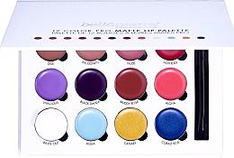 Parfüm, Parfüméria, kozmetikum Ajakrúzs paletta - Bellapierre 12 Color Pro Matte Lip Palette