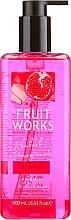 """Parfüm, Parfüméria, kozmetikum Folyékony szappan """"Rebarbara és gránátalma"""" - Grace Cole Fruit Works Hand Wash Rhubarb & Pomegranate"""