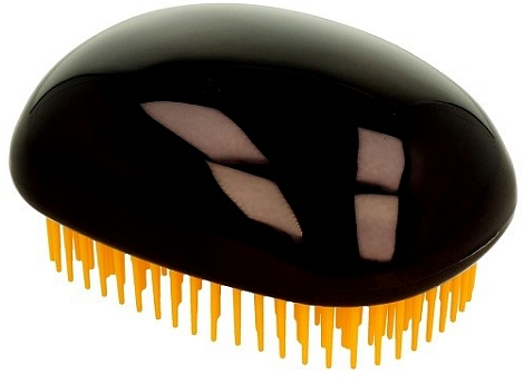 Hajkefe, fénylő fekete - Twish Spiky 3 Hair Brush Shining Black