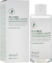 Parfüm, Parfüméria, kozmetikum Arctisztító víz teafa kivonattal - Benton Tea Tree Cleansing Water