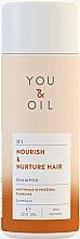 "Parfüm, Parfüméria, kozmetikum Sampon ""Táplálás és ápolás"" - You&Oil Nourish & Nurtere Hair Shampoo"