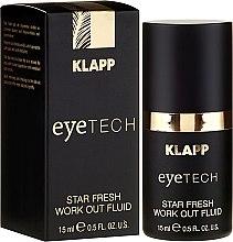 """Parfüm, Parfüméria, kozmetikum Szemkörnyékápoló fluid """"Ragyogó frissesség"""" - Klapp Eyetech Star Fresh Work Out Fluid"""