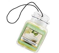 """Parfüm, Parfüméria, kozmetikum Illatosító """"Vanília és lime"""" - Yankee Candle Vanilla Lime Car Jar Ultimate"""