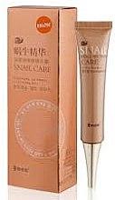 Parfüm, Parfüméria, kozmetikum Gél szemkörnyékre sötét körök ellen csiganyállal - Belov Snail Care Eye Gel