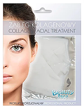 Parfüm, Parfüméria, kozmetikum Kollagén maszk - Beauty Face Collagen Capillaries Strengthening Home Spa Treatment Mask