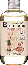 "Parfüm, Parfüméria, kozmetikum Masszázsolaj ""Pezsgő"" - Fergio Bellaro Massage Oil Sweet Champagne"