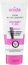 Parfüm, Parfüméria, kozmetikum Kéz- és körömápoló krém - Anida Pharmacy Linen Extract Hand Cream