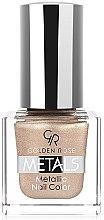 Parfüm, Parfüméria, kozmetikum Körömlakk - Golden Rose Metals Metallic Nail Color
